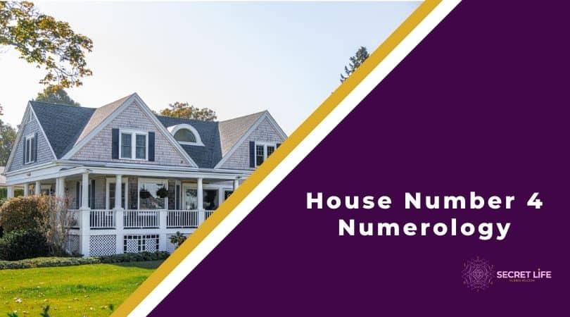 House Number 4 Numerology Image