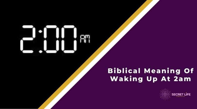Biblical Meaning Of Waking Up At 2am Image