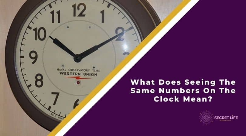 What Does Seeing The Same Numbers On The Clock Mean Image
